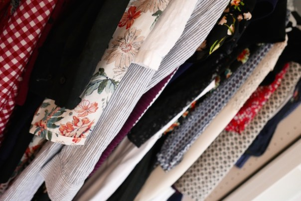 So many prints and patterns - it's hard to see what I even own sometimes. Which isn't because I own so much, but more because unused clothes are packed in so tightly that things fall off hangers and remain at the back of the wardrobe for months at a time...