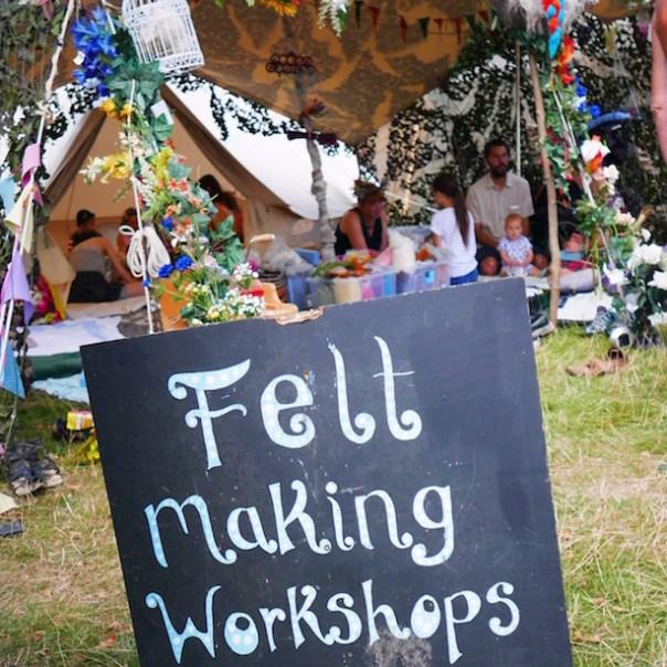 Felt making workshops