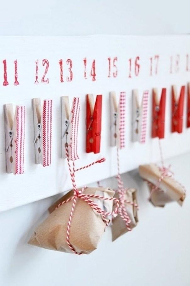 Homemade advent calendar