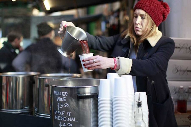 Mulled Wine Christmas Market.10 Christmas Markets In London