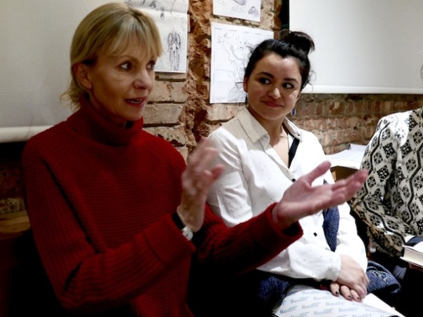 Kate Mosse at Poppy Loves Book Club