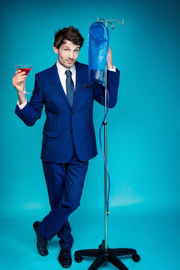 The Eulogy of Toby Peach, Edinburgh Fringe 2015, courtesy Richard Davenport 1