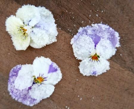 crystallise flowers