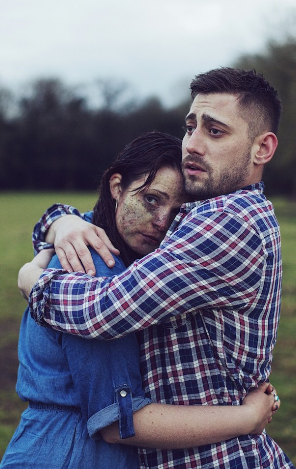 Tamla Kari and Michael Socha (courtesy Rekha Garton)