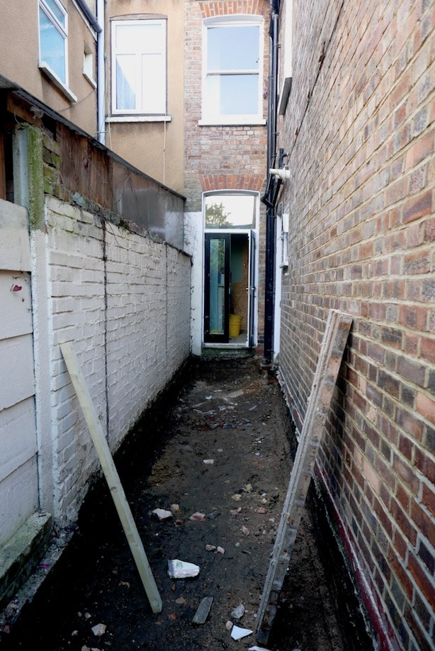 Doing A Side Return On A Victorian Terraced House