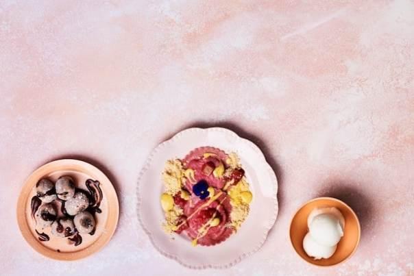10 - SET MENUS - 3 Course Dessert Menu