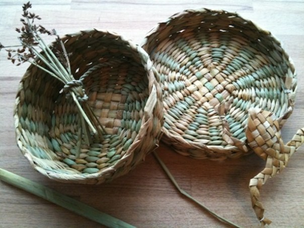 Rush Basket Making