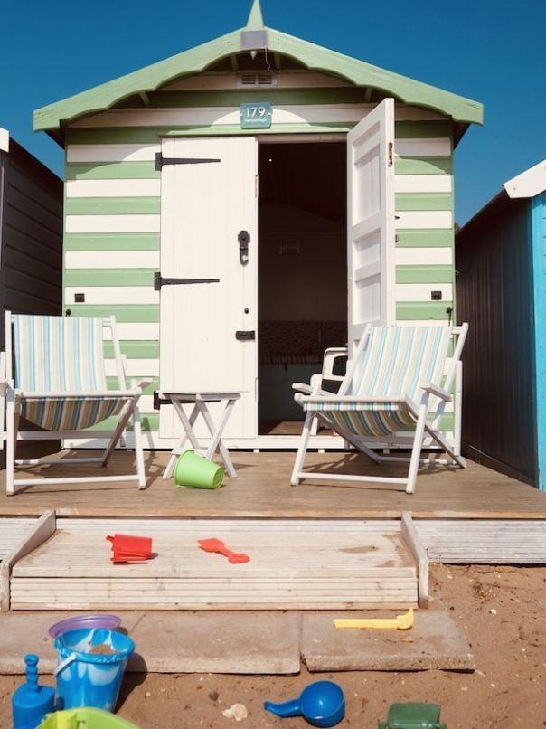 West Mersea Beach hut