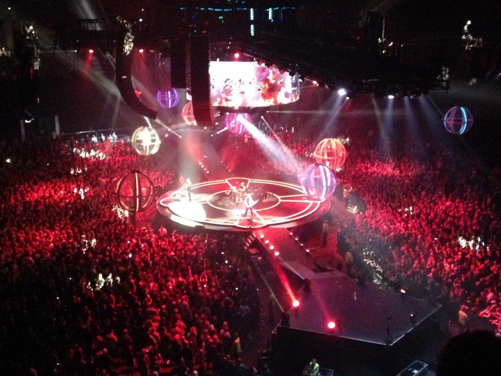 Muse Live at the Glasgow SSE Arena - Matt Bellamy, Chris Wolstenholme, Dom Howard