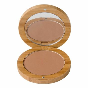 Bronzer by Poppy Sloane in a bamboo compact case - product photo