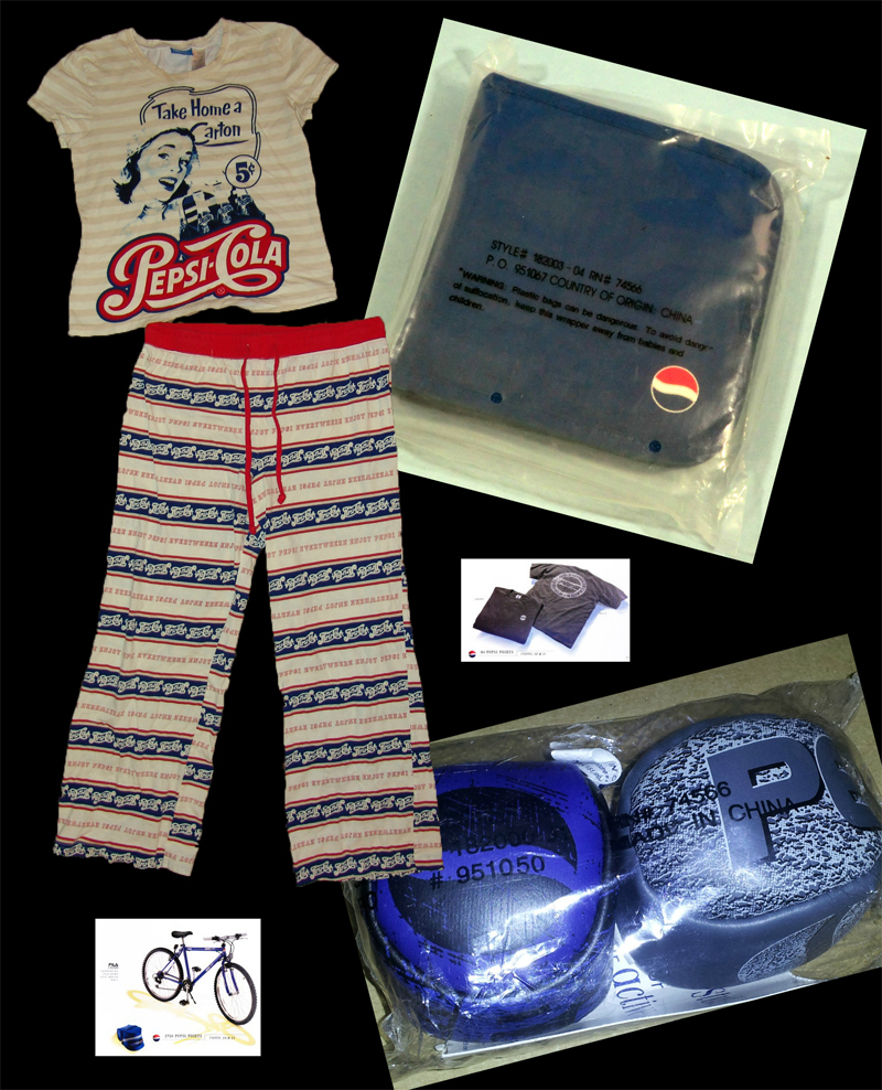 Pop Rewind — Obsession of the Day: Pepsi Stuff