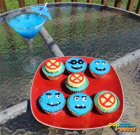 xmen-iceman-drink-beast-cupcakes