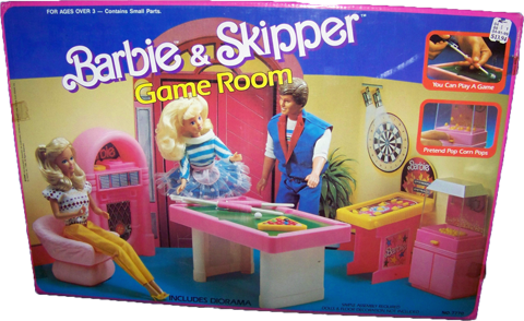 barbie-skipper-game-room