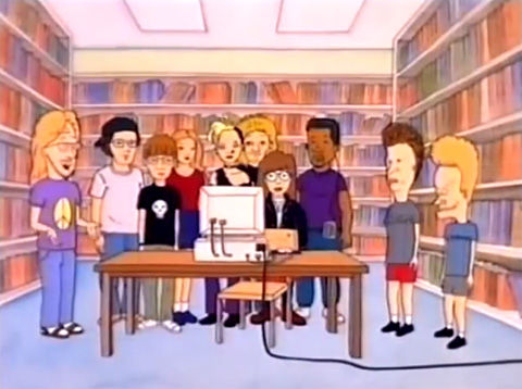 beavis-butt-head-library