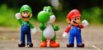 Luigi, Yoshi and Mario