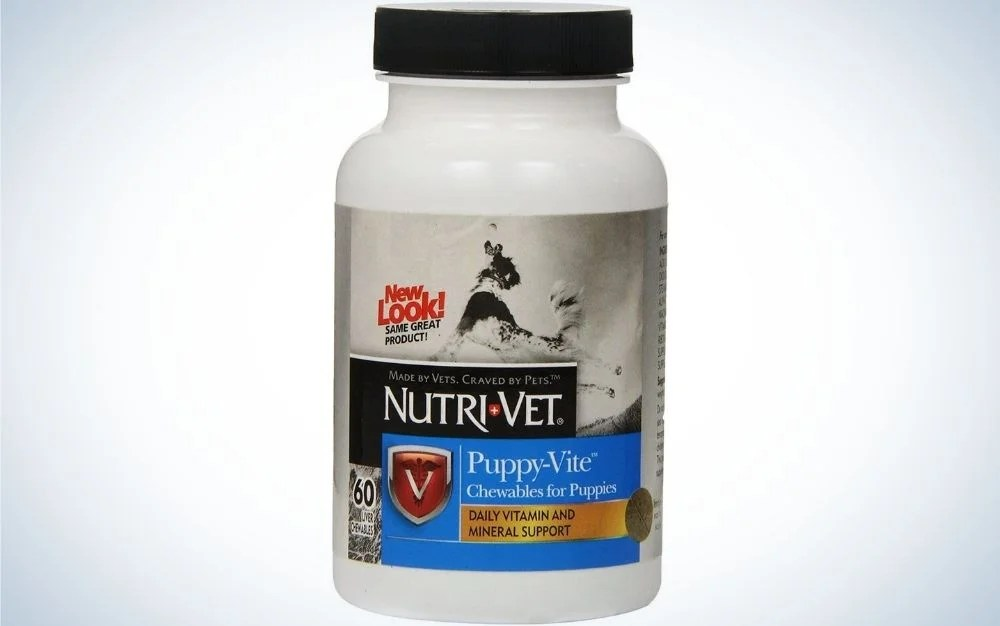nutrivet is a chewable dog supplement for puppies