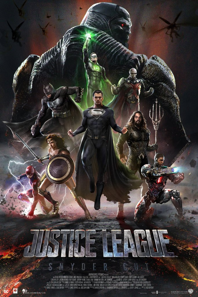 Justice League Snyder Cut Fan Made Poster