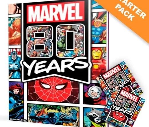 Pré Venda do Álbum de figurinhas da Marvel 80 anos
