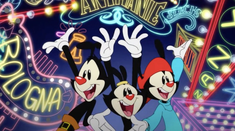 Trailer Revela Data de Estreia do Novo Animaniacs!