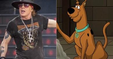 Confira A Participação de Axl Rose em Scooby Doo!