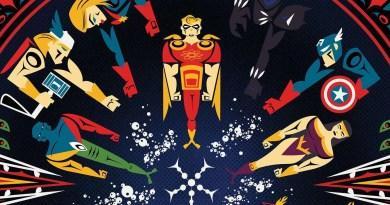 """Confira As Icônicas Capas de Jeffrey Veregge para """"Heroes Reborn""""!"""