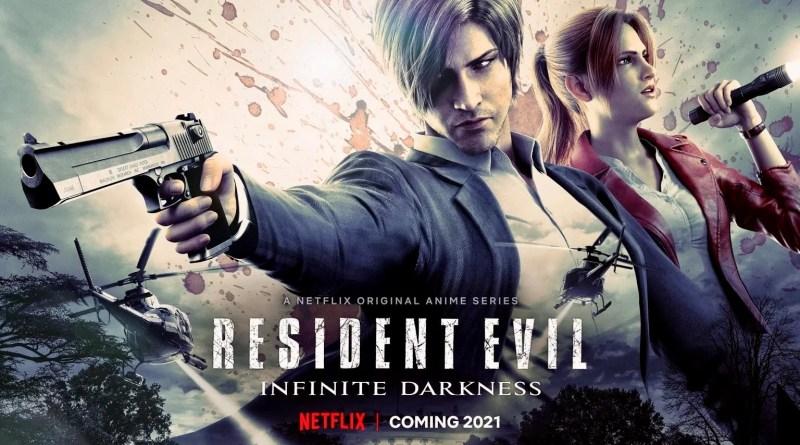 Trailer animação Resident Evil: Infinite Darkness!