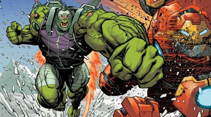 Novo Hulk de armadura!