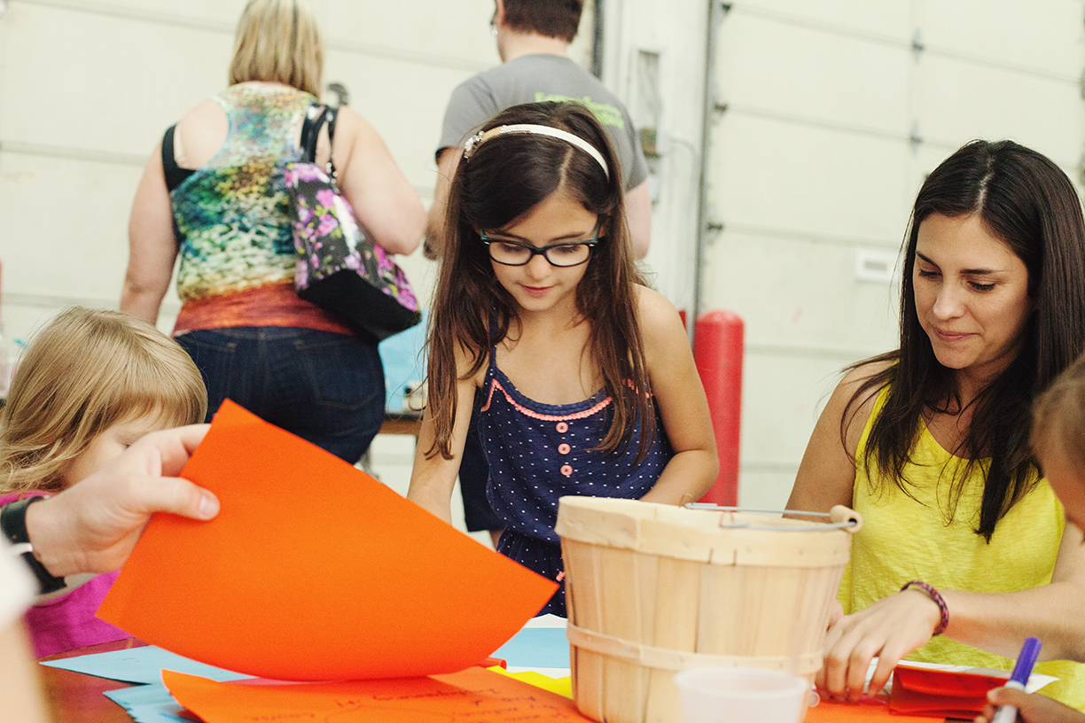 Kids Area Pop Shop Houston Festival May 2014 | Craft with Kids Houston