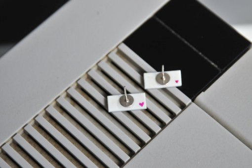 Nintendo Stud Earrings 2 | Video Game Jewelry
