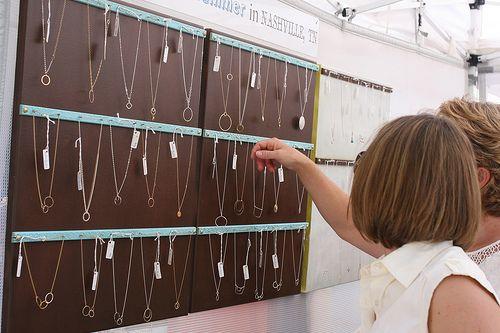 Awesome Jewelry Displays | Craft Fair Displays | Craft Booth Setups | Pop Shop Houston Craft Fair Houston TX