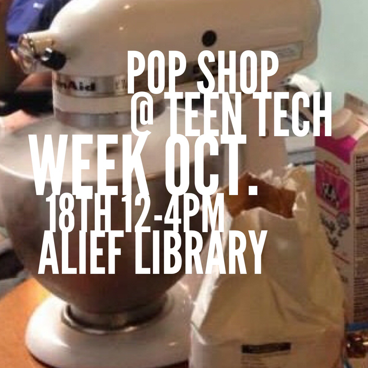 Teen Tech Week Alief Library Houston TX | Citgo Sponsors the Houston Public Library Series of Maker Activities for Teens