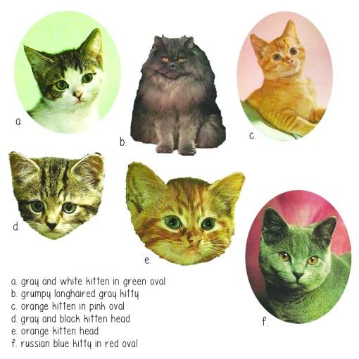 Kitten Heads for T Shirts   Kitten Tank Top   Handmade Clothes at Pop Shop America Online Boutique