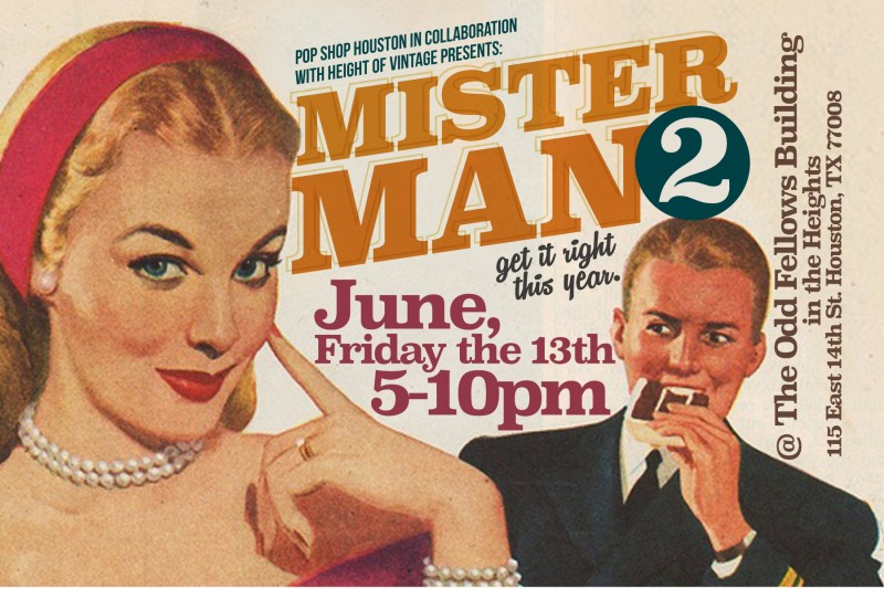 Mister Man A Pop Up Shop for Men | Houston TX | Shop for Father's Day | Local Men's Shopping Houston TX