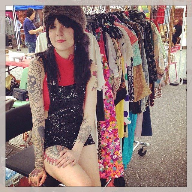 meg michelle   Mini Pops at Pavement Clothing   Craft Fair at Westheimer & Dunlavy   Montrose Arts Market