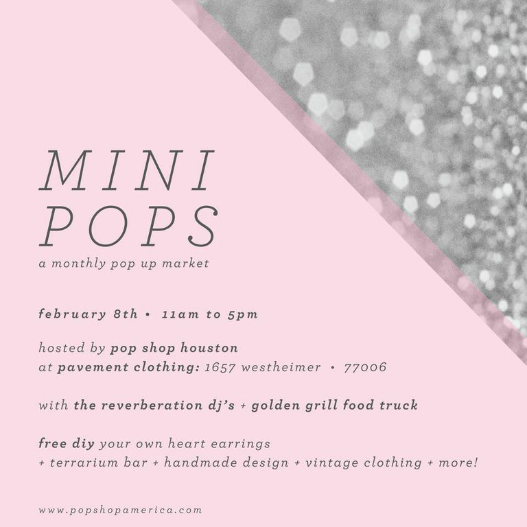 Mini Pops Monthly Art Market Montrose by Pop Shop America DIY Blog