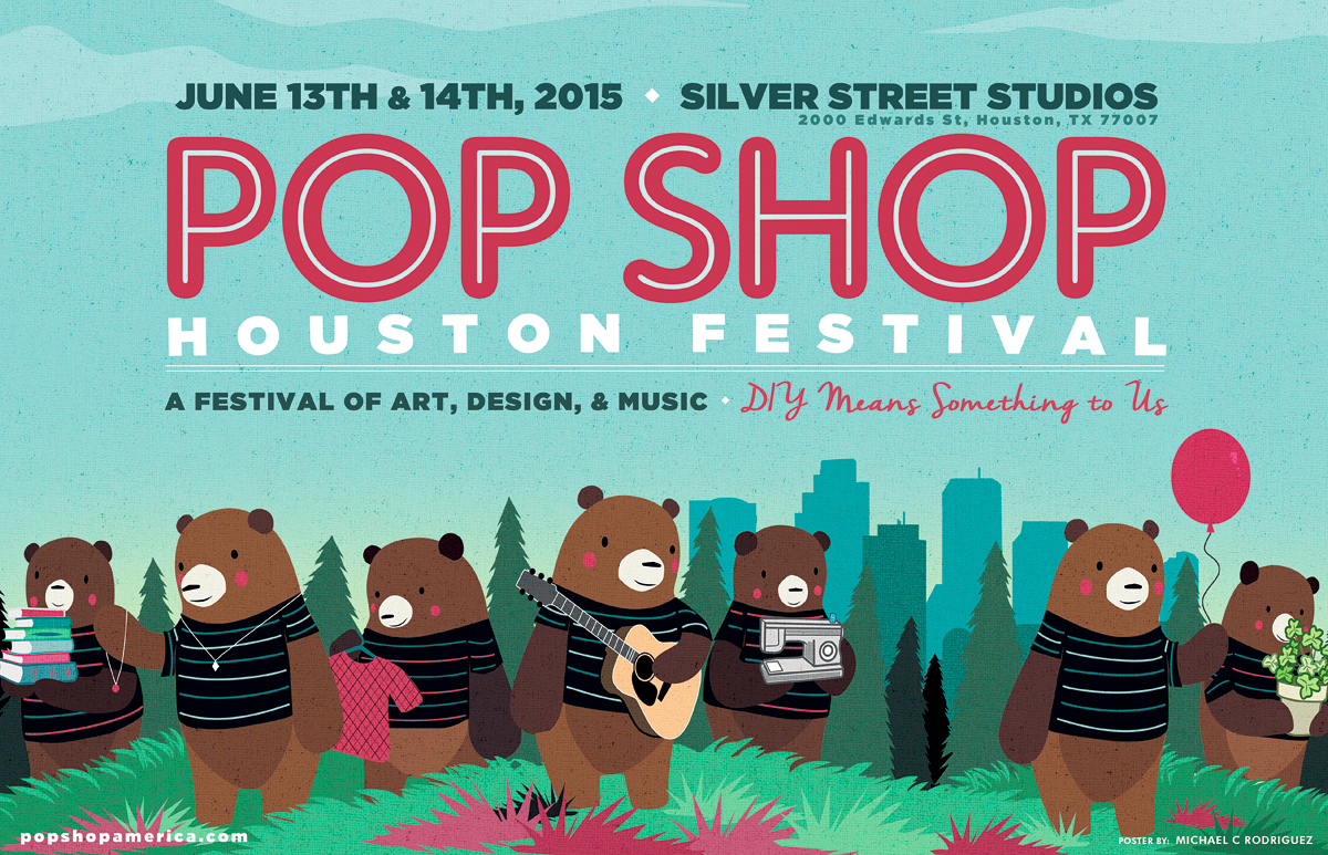 Pop Shop Houston A Festival of Art Design and Music