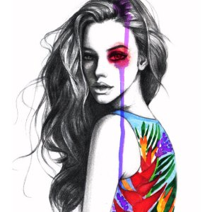 Rongrong Fashion Illustration Fashion Illustrator