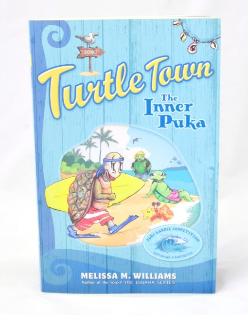 Front Cover of Turtle Town: The Inner Puka Childrens Book