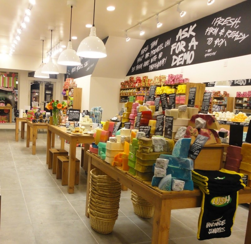 Lush Cosmetics - Georgetown, VA Top 5 Lush Products to try