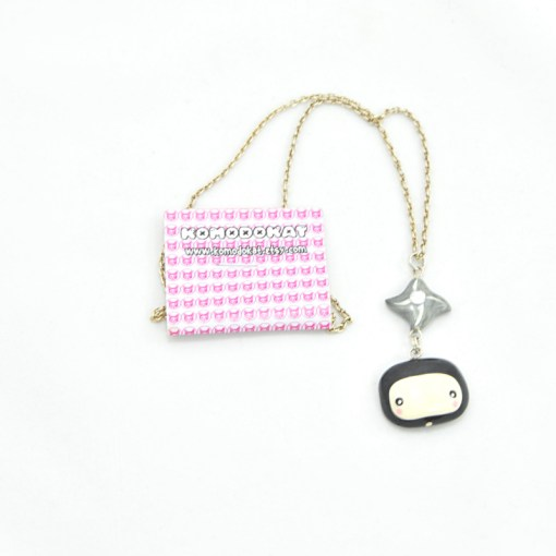 Kawaii Ninja Necklace