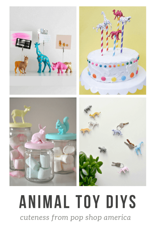 painted animal toy diys round up pop shop america