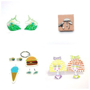 different ideas with shrinky dinks from the pop shop america craft class