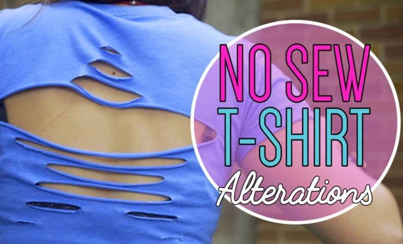 no sew t shirt alterations upcycle t shirt title image small for web cropped