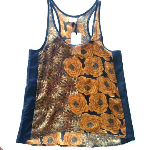 two flowers rickshaw tank top Lallitara