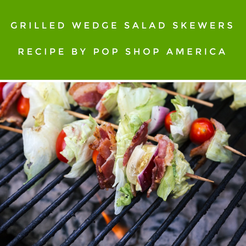 grilled wedge salad recipe pin