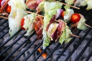 Grilled Wedge Salad Skewers Recipe