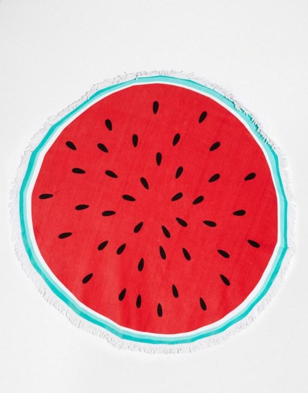 watermelon beach towel ASOS