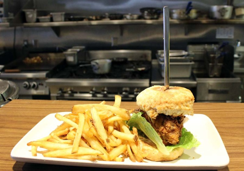 Chicken in a Biscuit, The Joy Bus Diner, Phoenix eatery