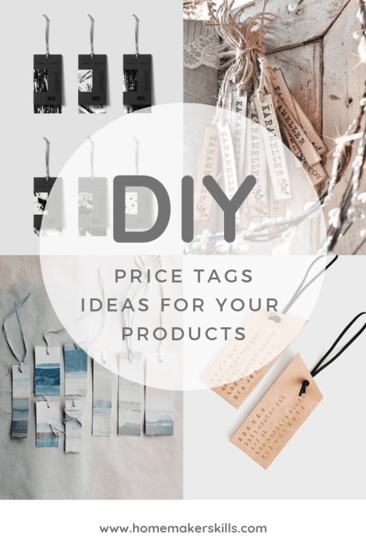 Diy Price Tag Ideas For Professional Craft Businesses