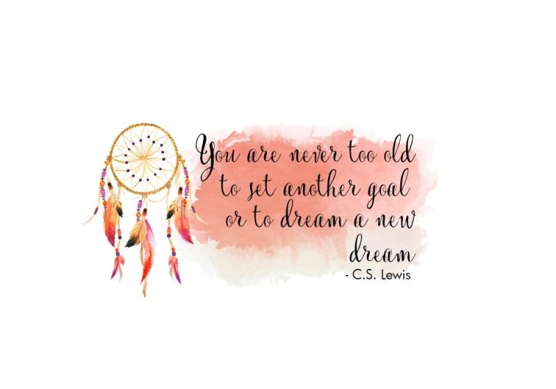 C.S. Lewis New Year\'s Quote Printable - Dreamcatcher Printable